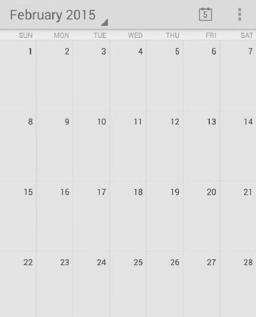 Bạn có biết tháng 2/2015 là một tháng hoàn chỉnh không?