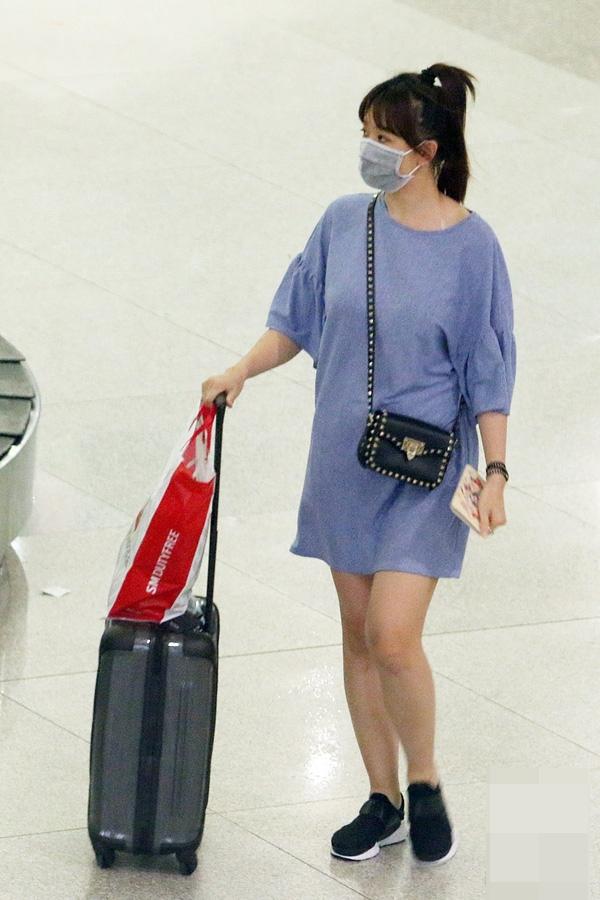 Nữ ca sĩ gốc Hàn lộ rõ thân hình khá mũm mĩm khác với hình ảnhtrước kia của cô. - Tin sao Viet - Tin tuc sao Viet - Scandal sao Viet - Tin tuc cua Sao - Tin cua Sao