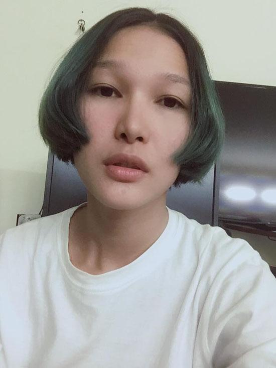 Diệp Linh Châu - cô gái gây tranh cãi trong 2 tập phát sóng gần đây với thử thách phối đồ hay mâu thuẫn với An Nguy.