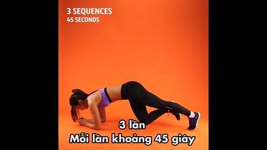 thể dục cho vòng bụng săn chắc