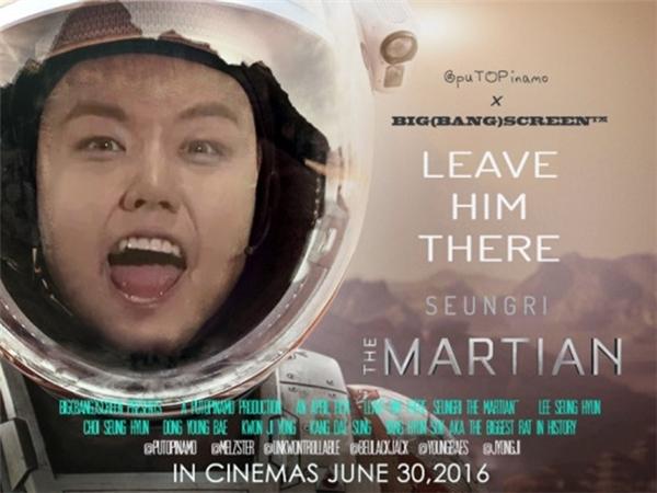 """Nước Mỹ bỏ bạc tỉcứu Matt Damon về từ sao Hỏa trong khi các VIP thì hô hào nhau... """"Cứ bỏ Seungri ở đó""""."""