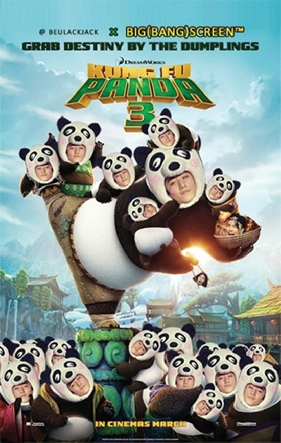 """Chàng """"gấu trúc"""" Seungri cũng được ưu ái đóng một bộ phim riêng mang tên Panda Seungri."""