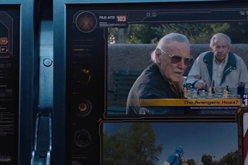 """Màn hình máy tính trong """"The Avengers""""."""