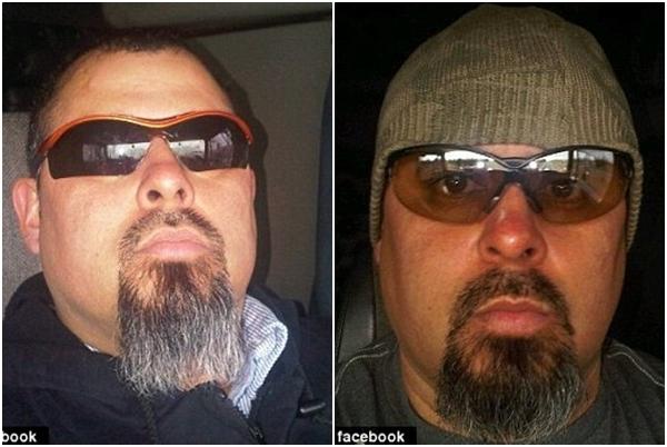 Saul Vazquez- người tài xế chụp lại cảnh tượng được cho là hồn lìa khỏi xác. (Ảnh FBNV)