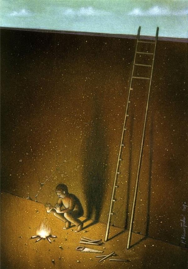 Người có tầm nhìn kém sẽ luôn tự giam mình trong bóng tối.