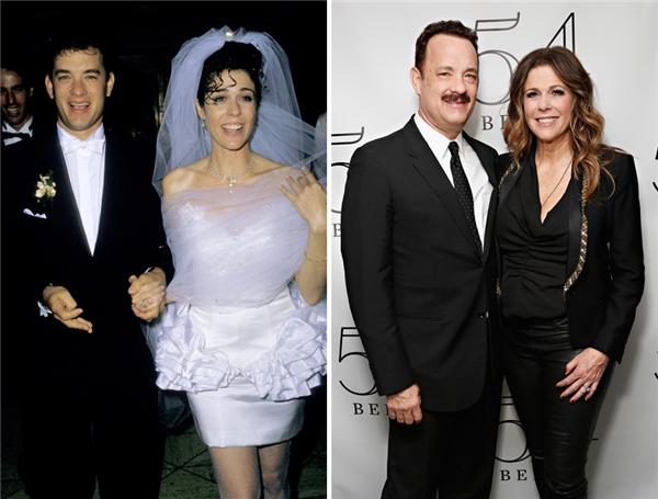 Tom và Rita đã tận hưởng 28 năm mặn nồng bên nhau. (Ảnh: Jim Smeal, Cindy Ord)