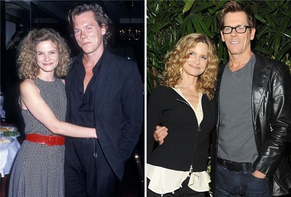 Cặp đôi diễn viên tài ba này vẫn như ngày mới yêu sau 28 năm chung sống. (Ảnh: Ron Gallela)
