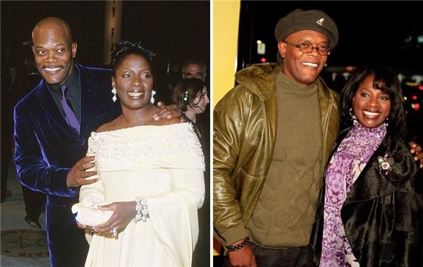 """Samuel và Latanya đã """"có phúc cùng hưởng có họa cùng chịu"""" được 36 năm rồi. (Ảnh: J. Wespa, Kevin Winter)"""