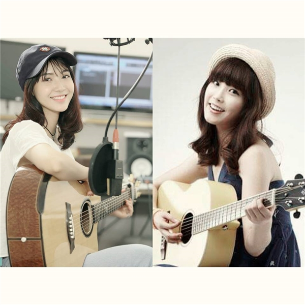 Bảo Trang chia sẻ, thần tượng của cô nàng chính là IU và đây cũng là hình mẫu mà bạn ấy đang cố gắng hướng đến.