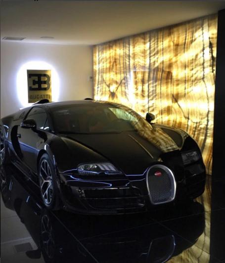 """""""Quái thú"""" nằm gọn trong Garage của Ronaldo. (Ảnh: internet)"""