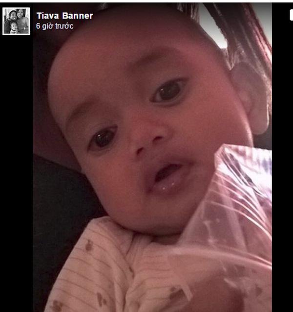Người mẹ đã đăng tải hình ảnh đứa con 8 tháng bị thất lạc lên mạng xã hội.