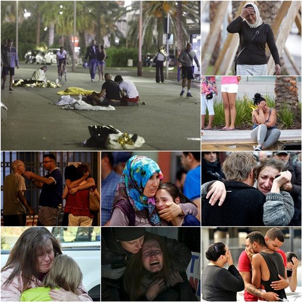 Đây không chỉ đơn thuầnlà những hình ảnh đau lòng của nạn nhân, người thân trong các vụ tấn công khủng bố trên toàn thế giới, mà ẩn sâu trong đó là sự sợ hãi với tương lai. (Ảnh Internet)