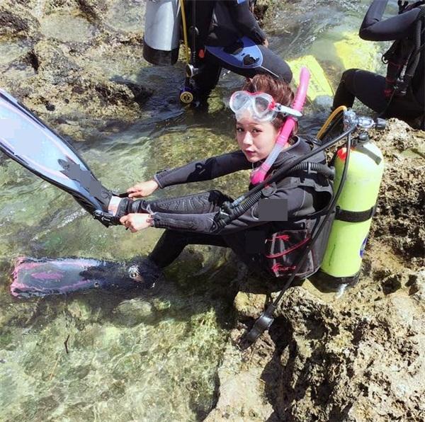 Danh tính thật sự của nữ thợ lặn xinh nhất quả đất