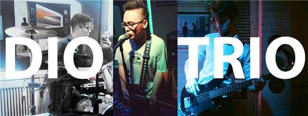 The Dio Trio, ban nhạc 3 thành viên gồm Quang Diệu (Việt Nam), Luca Trung Lê (Mỹ) và Taylor Morrison (Canada).