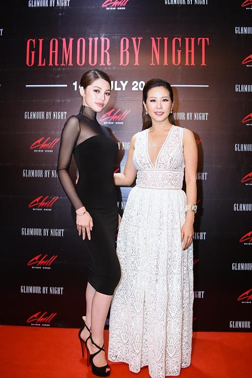 Hoa hậu phu nhân Thu Hoài rạng rỡ tham gia sự kiện.