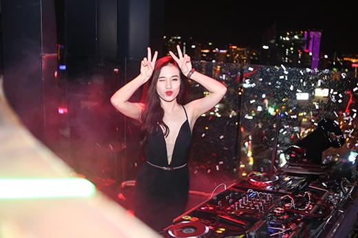 Nữ DJ xinh đẹp Popo Duong.