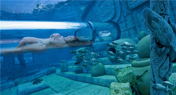 Những ống trượt nước thót tim nhất thế giới