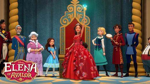 , Elena sẽ ra mắt các khán giả nhí với hình tượng của một cô công chúa 16 tuổi đầy sựtự tin.