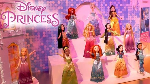 Disney đang dần sưu tập đủ các cô công chúa từ mọi châu lục.