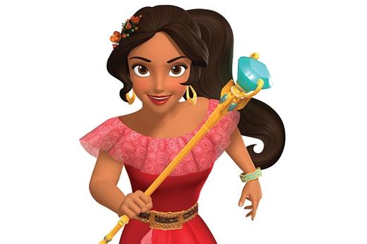 Elena - cô công chúa Mỹ La-tinh đầu tiên của Disney.