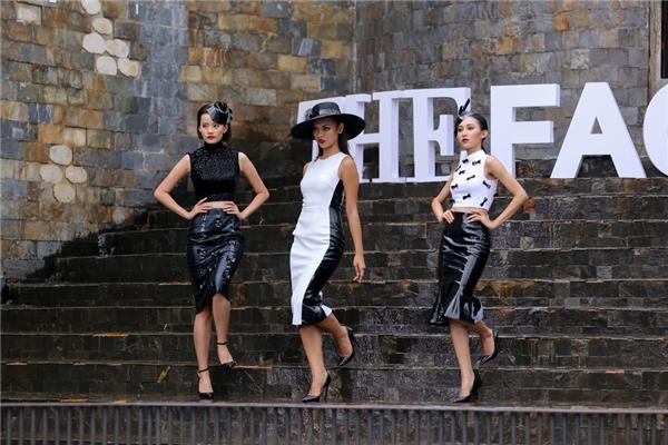 Thí sinh chiến thắng trong phần thi này là Thu Hiền(bìa trái)đội Lan Khuê.
