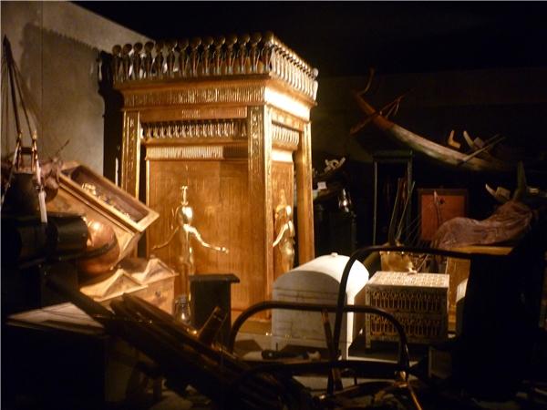 Đâylà một trong rất ít những lăng mộ của các Pharaoh Ai Cập Cổ đại không hề bị kẻ trộm mộ đột nhập. (Ảnh: Internet)