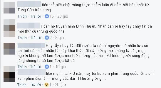 Quyết định ngưng chiếu phim TQ của Đài PTTH được dân mạng hưởng ứng