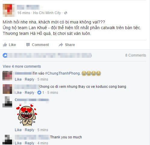 Hàng loạt ý kiến trên mạng xã hội tỏ ra không đồng tình với kết quả chung cuộc. Thậm chí có người còn nghi vấn liệu khách mời có bị mua chuộc.