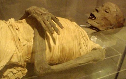 Hiện vẫn chưa ai biết danh tính của xác ướp này.