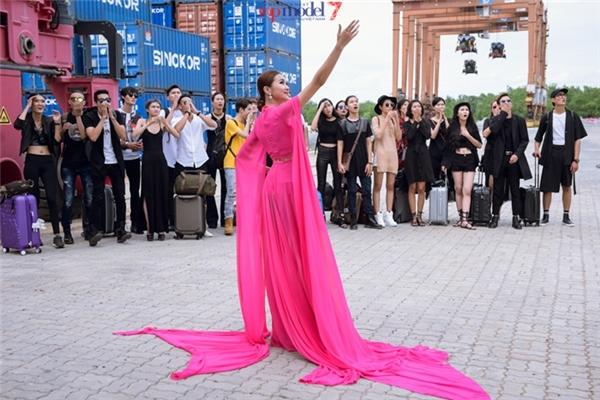 Địa điểm diễn ra thử thách đầu tiên của Vietnam's Next Top Model 2016.