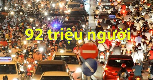 Dân số Việt Nam sắp đạt ngưỡng 92 triệu người.