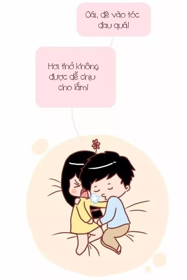 Tưởng tượng và thực tế khi lần đầu được ngủ cạnh người yêu