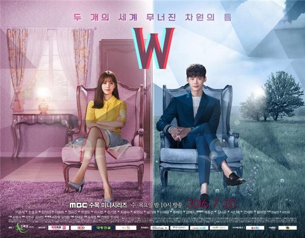Poster chính của W - Two Worlds