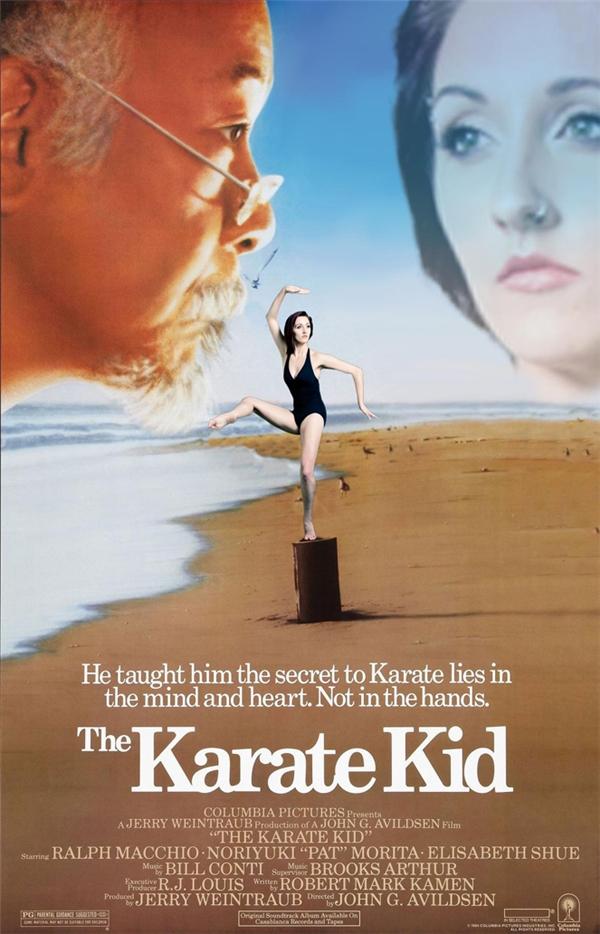 Karate Kid phiên bản châm biếm.