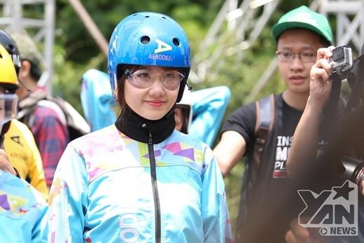 Hari Won thử thách chơi trò mạo hiểm trước tin đồn mang thai - Tin sao Viet - Tin tuc sao Viet - Scandal sao Viet - Tin tuc cua Sao - Tin cua Sao