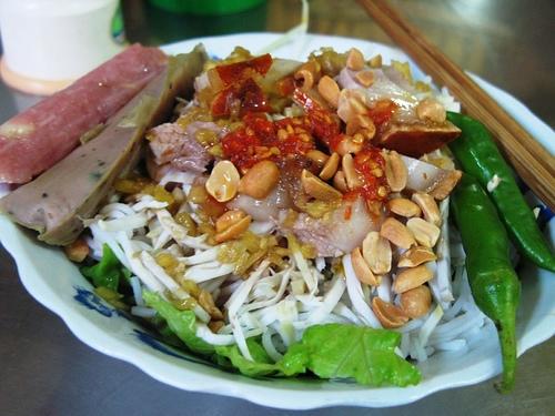 Ẩm thực Đà Nẵng - Bún mắm nêm mang nét chân chất hồn quê Việt Nam