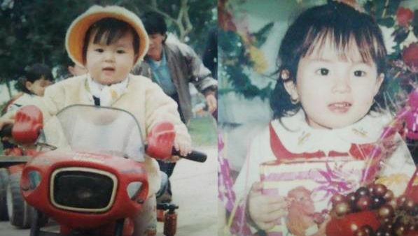 Khi còn nhỏ, Hoa hậuKỳ Duyên là một cô bé mũm mĩm, đáng yêu. - Tin sao Viet - Tin tuc sao Viet - Scandal sao Viet - Tin tuc cua Sao - Tin cua Sao