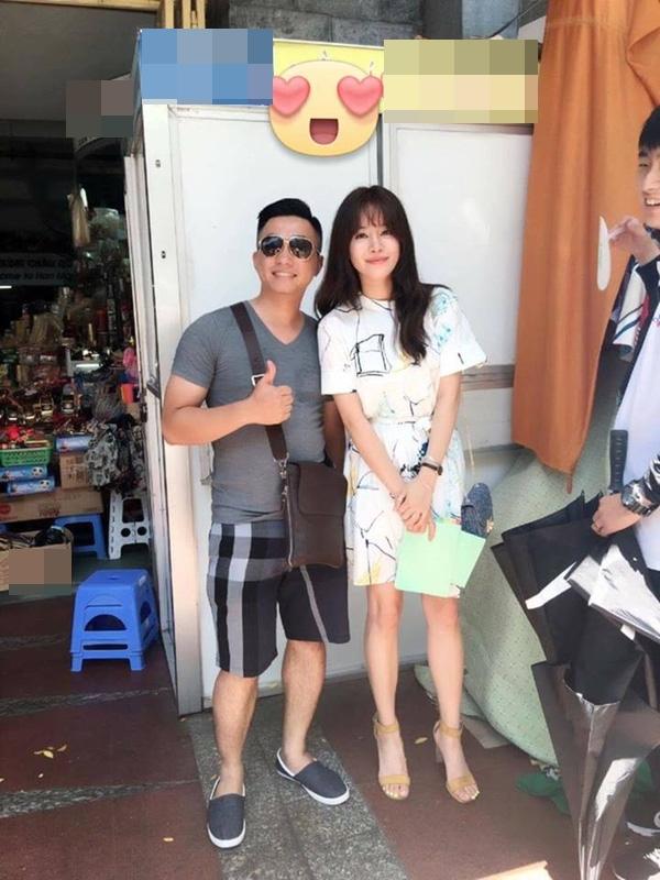Jung Hae Na xinh đẹp và giản dị trên phim trường.