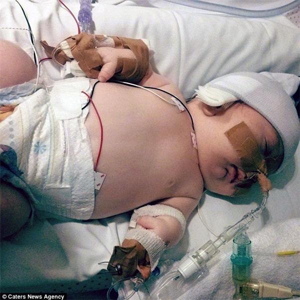 Cô bé 3 lần được báo đã chết trong bụng mẹ vẫn sống sót thần kì