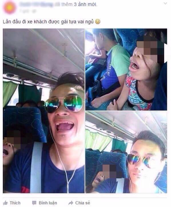 Cô gái ngủ gật trên xe có tội tình gì mà phải bị cười cợt, bêu rếu?