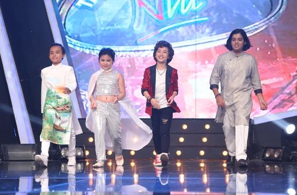 Top 4 Vietnam Idol Kids gồm: Hồ Văn Cường, Bảo Trân, Jayden và Gia Khiêm. - Tin sao Viet - Tin tuc sao Viet - Scandal sao Viet - Tin tuc cua Sao - Tin cua Sao
