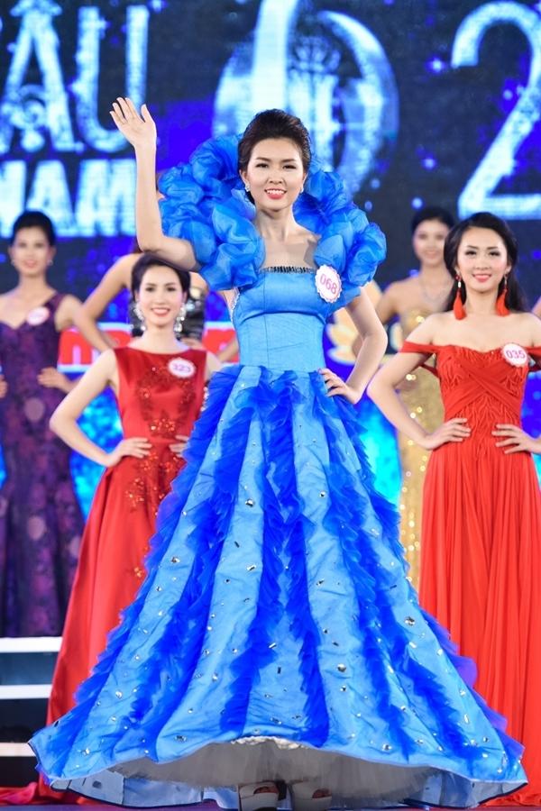 Vũ Thị Vân AnhSBD 068- từng đoạt danh hiệu Người đẹp Hạ Long 2016.