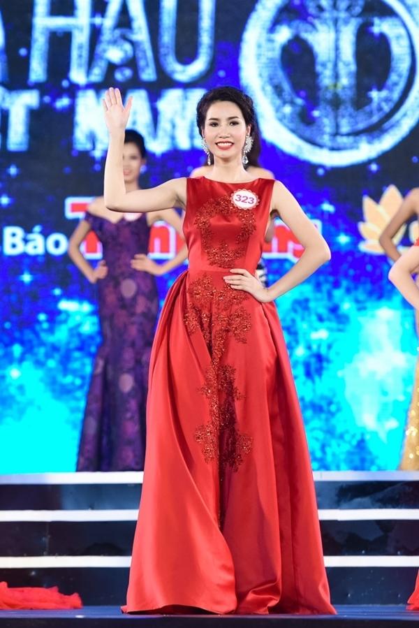 Nguyễn Thị Ngọc VânSBD 323 -Á khôi 1 Người đẹp Hạ Long 2014.