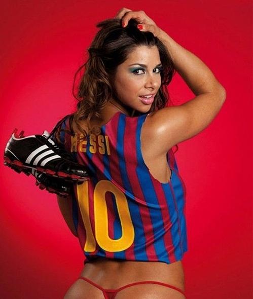 Messi bị tố có tình 1 đêm với nữ vũ công nóng bỏng