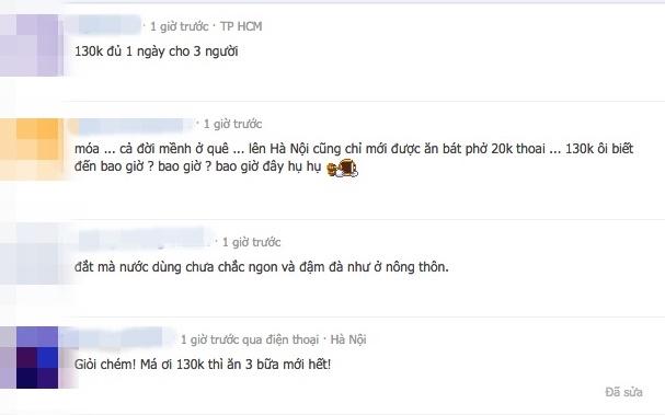 """Thực hư quán phở """"chặt chém"""" 130 nghìn một bát bắp bò tại Hà Nội?"""