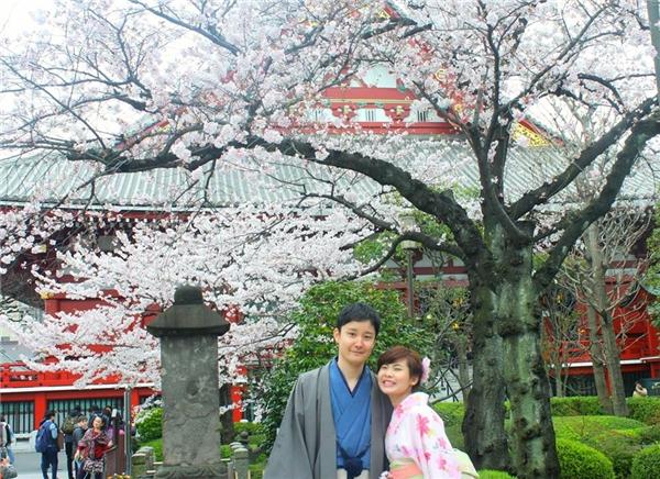 Cặp đôi Masayuki và Mỹ Tiên.(Ảnh: NVCC)
