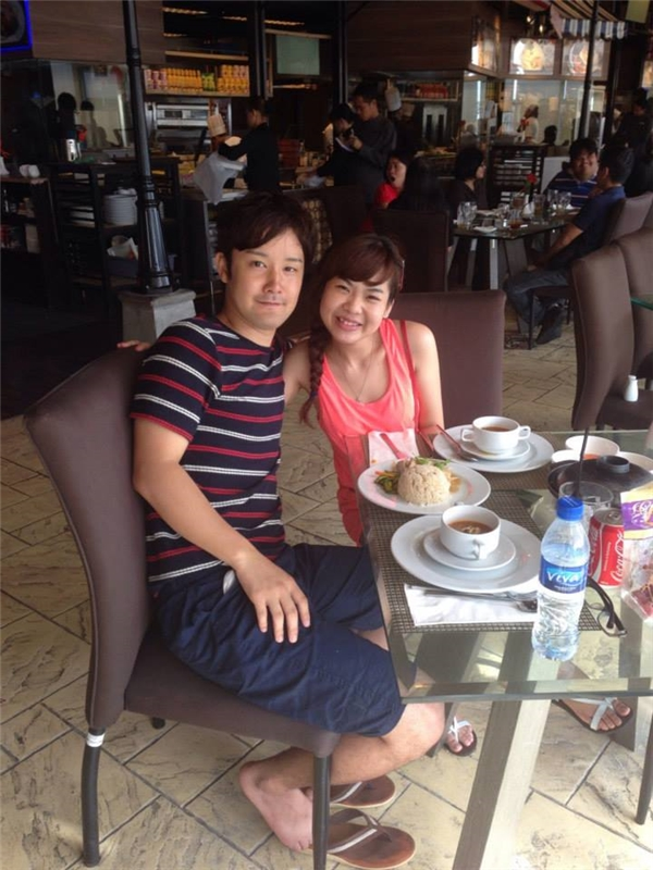 Masa và Mỹ Tiên khi còn học ở Philippines.(Ảnh: NVCC)