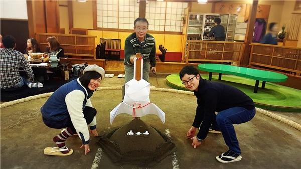 Mỹ Tiên, Masa và cha của Masa.(Ảnh: NVCC)