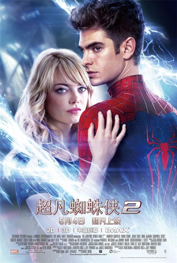 The Amazing Spider-Man 2 (2014): Tay của Emma Stone cũng thế.