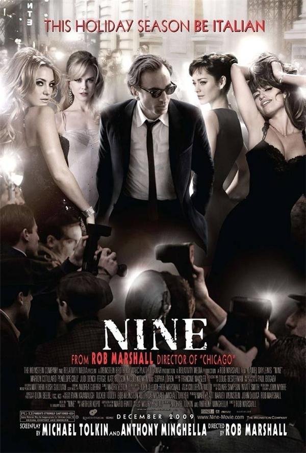 Nine (2009): Vì sao các phó nháy cứ chĩa ống kính xuống phần bụng dưới của anh ấy chi vậy?